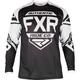 Black/White Clutch Retro MX Jersey