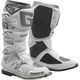 White/Silver SG-12 Boots