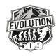 18 in. Evolution Sticker - 509-STK-EV18-1