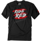 Youth Honda Ride Red Stripes T-Shirt