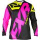 Youth Black/Elec Pink/Hi-Vis Clutch Prime MX Jersey