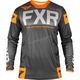 Black/Charcoal/LT Gray/Orange Helium Off-Road Jersey