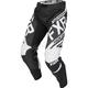 Youth Black/White Clutch Retro MX Pants