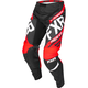 Youth Black/Red/White Clutch Retro MX Pants