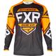 Youth Black/Orange/LT Gray Clutch Retro MX Jersey