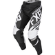 Black/White Clutch Retro MX Pants