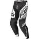 Black/White Revo MX Pants