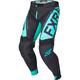Black/Mint Helium MX Pants