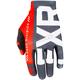 Black/Red/White Slip-On Lite MX Gloves