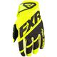 Hi-Vis/Black Clutch Strap MX Gloves