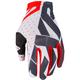 White/Black/Red Slip-On Air MX Gloves