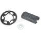 Black WSS Warranty Chain and Sprocket Kit - CK6453