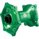 Green Rear MX1 Hub - 0213-0722