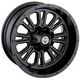 Black Rear 339X 12x8 Wheel - 0230-0918