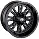 Black Rear 339X 12x8 Wheel - 0230-0920