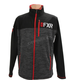 Charcoal Heather/Red Elevation Tech Zip Up