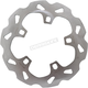 Solid-Mount Front Wave Brake Rotor w/Pins - DF838W