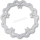 Solid-Mount Front Wave Brake Rotor - DF821PW