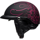 Matte Black/Pink Pit Boss Catacombs Pinstripe Helmet