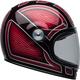Red/Black/Silver Bullitt SE Ryder Helmet