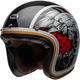 Black/Silver/Red/Gold Custom 500 Osprey Helmet