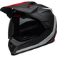 Matte Black/White/Red MX-9 Adventure MIPS Switchback Helmet