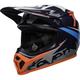 Black/Gray/Navy/Coral MX-9 MIPS Seven Ignite Helmet