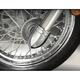 Chrome Bullet Fork Covers - 55-319