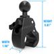 Ram Medium Tough-Claw 1.5 in. Diameter Rubber Ball - RAP404U