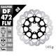 Standard Floating Wave Front Brake Rotor - DF724FLW-I