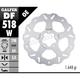 Standard Floating Wave Front/Rear Brake Rotor - DF518W-I