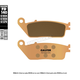 HH Sintered Ceramic Rear Brake Pads - FD0140G1370