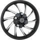 21 in. x 3.5 in. Hurricane Precision Cast 3D One-Piece Wheel w/ABS - 3D-HUR213BC-ABS
