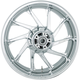 Chrome Rear 18 in. x 5.5 in. Hurricane Precision Cast 3D One-Piece Wheel - 3D-HUR185CH-ABS