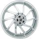Chrome Rear 18 in. x 5.5 in. Hurricane Precision Cast 3D One-Piece Wheel - 3D-HUR185CH