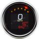 3 3/8 in. Chrome MLX-3012 Series Speedometer Gauge - MLX-3012