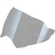 Silver Mirror Anti-Scratch Shield w/Pinlock Pins - 0130-0830