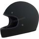 Matte Black FX-78 Vintage Helmet