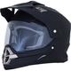 Matte Black FX-39 Dual Sport Series 2 Helmet