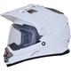 Pearl White  FX-39 Dual Sport Series 2 Helmet