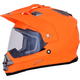 Matte Neon Orange FX-39 Dual Sport Series 2 Helmet