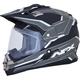 Matte Black/Carbon FX-39 Dual Sport Series 2 Helmet