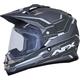 Frost Gray/Carbon  FX-39 Dual Sport Series 2 Helmet