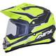 Matte Yellow/Carbon  FX-39 Dual Sport Series 2 Helmet