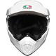 White AX-9 Helmet