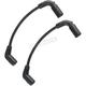 Black 8mm Custom Plug Wire Set - 171099-K