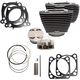 Wrinkle Black 128 in. Big Bore Kit w/Highlighted Fins - 910-0684