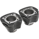 Black Replacement Cylinders (4.25 in. Bore; 124/128 cu. in.) - 88186