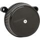 Black/Carbon  Big Sucker Stage 1 Carbon air Filter Kit w/Standard Air Filter & Billet Cover - 18-741