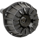 Black Anodized 15-Spoke Inverted Series Air Cleaner Kit - 18-991